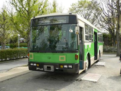 展示車両となった元江東営業所所属のL-Z281号車