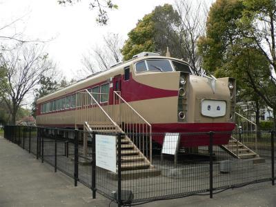 岩槻公園に展示されている東武鉄道1720型
