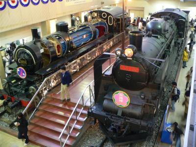 9856号機関車とC57135号機関車