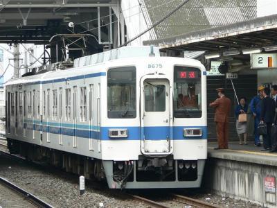 1209D列車以降大師線運用に充当されるA6041が下り副1番線に進入