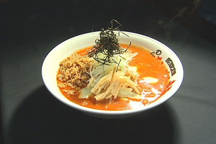 チーズ坦々麺