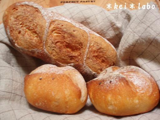 うまくいかないパン
