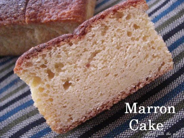 栗の贅沢パウンドケーキ