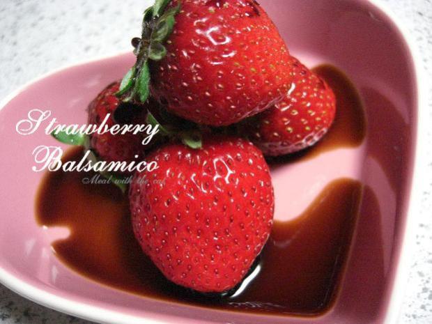 苺×バルサミコ