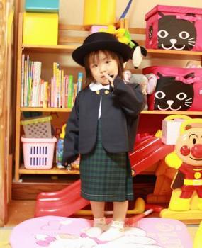 幼稚園の制服だよ~