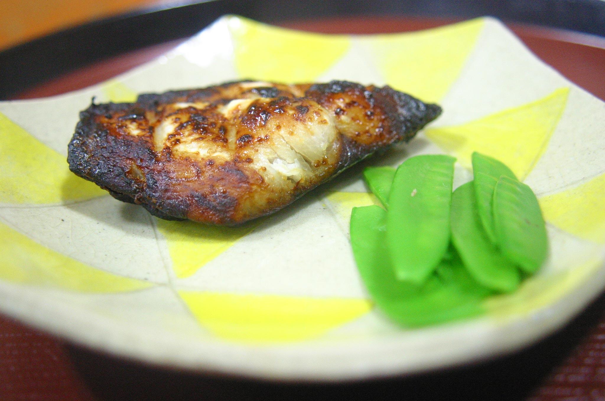 魚の味噌漬