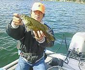20080924 ワームで釣れました