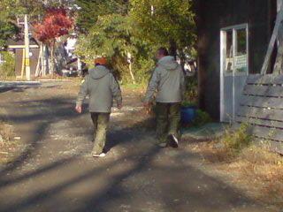 20081102 お揃いの防寒着