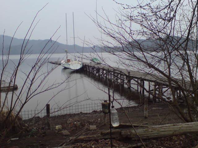 20090414 現在の野尻湖