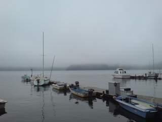 20090805 霧の野尻湖