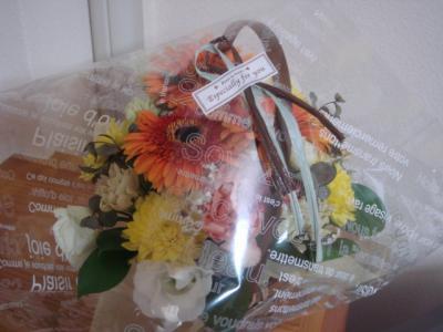 2008.10 Iさんより、引越し祝いお花