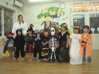 2008.10 保育園 年長 ハロウィーン1