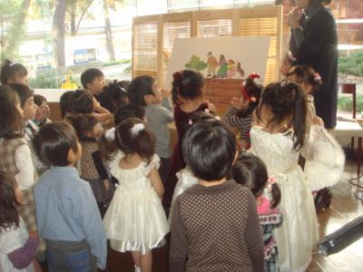 2008.12.19 クリスマスランチパーティー④ 紙芝居