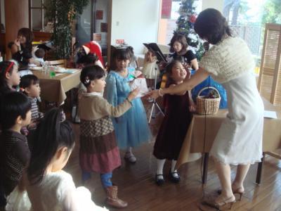 2008.12.19 クリスマスランチパーティー①
