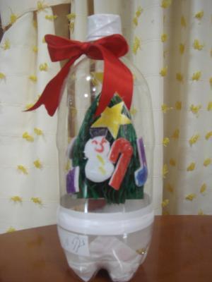 2008.12.23 保育園で作成クリスマスグッズ