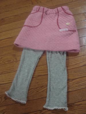 2008年12月 スカートとスパッツ1