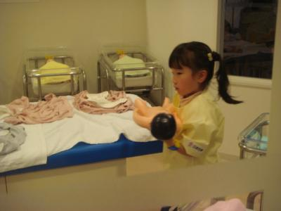 キッザニア 新生児室4