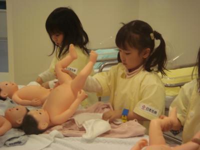 キッザニア 新生児室2