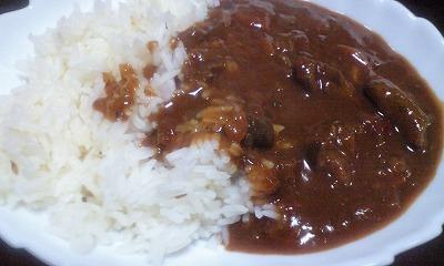 ラム肉カレー