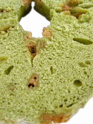 JUNOESQUE BAGEL--抹茶キャラメルベーグル(2月限定)。