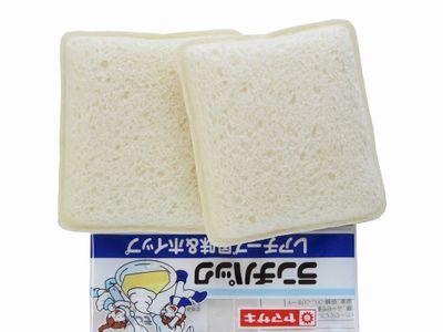 ヤマザキ--ランチパック レアチーズ風味&ホイップ。