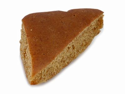 KIBIYAベーカリー--黒みつパン。