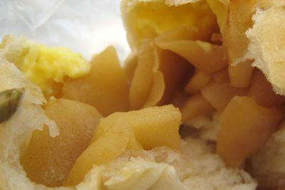 れの かまくら--りんごパン。