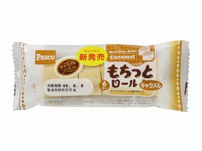 Pasco--もちっとロール キャラメル。