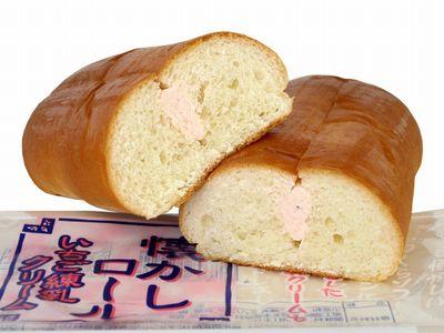 神戸屋--懐かしロール いちご練乳クリーム。