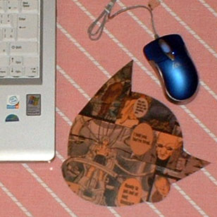 PLUTOのマウスパッド