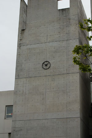 北野高校の時計