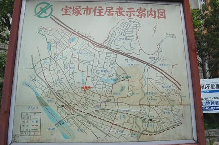 宝塚住宅案内図