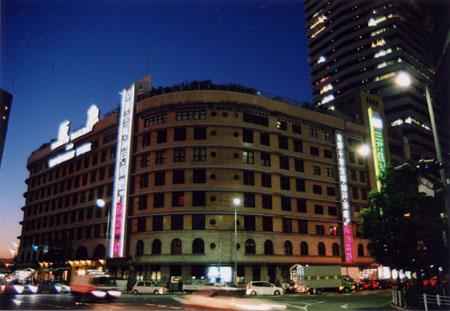 阪急ビル夜景