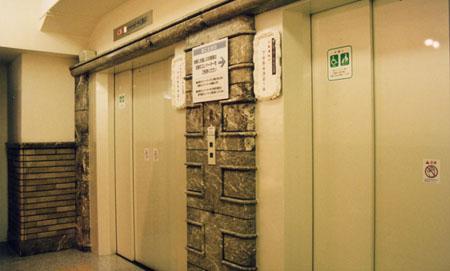 阪急百貨店 エレベーター
