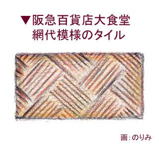 阪急大食堂タイル