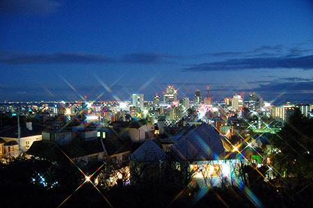 北野 夜景