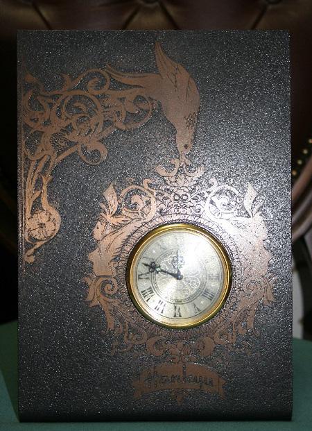ブロンズ大時計置時計