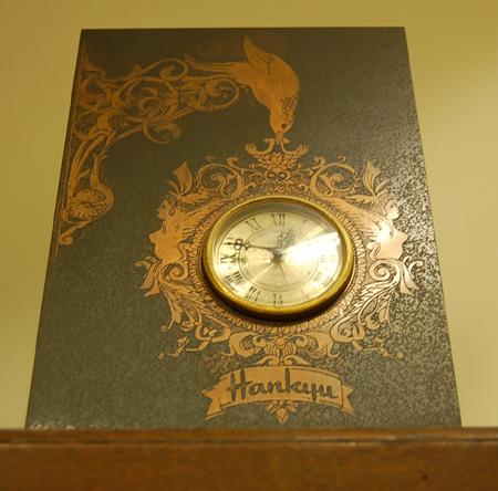 阪急ブロンズ置時計