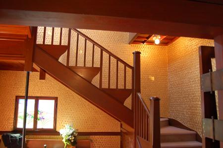 芝川邸(階段)