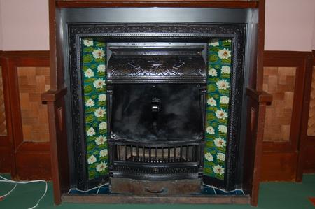 芝川邸(暖炉)