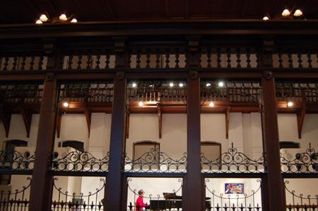 雪の京都文化博物館