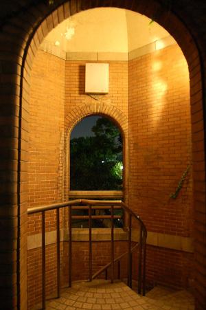 桜ノ宮公園の階段搭