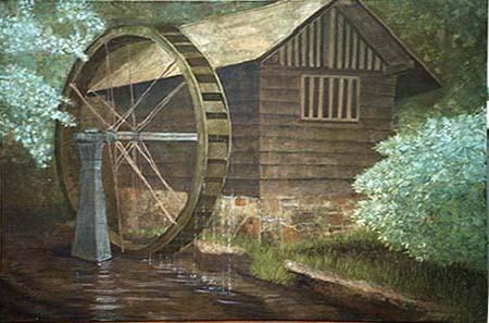 水車(日本画)