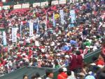 ジャンボ大会観客席