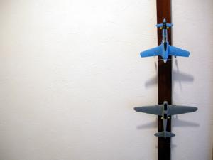 複座戦闘機と震電
