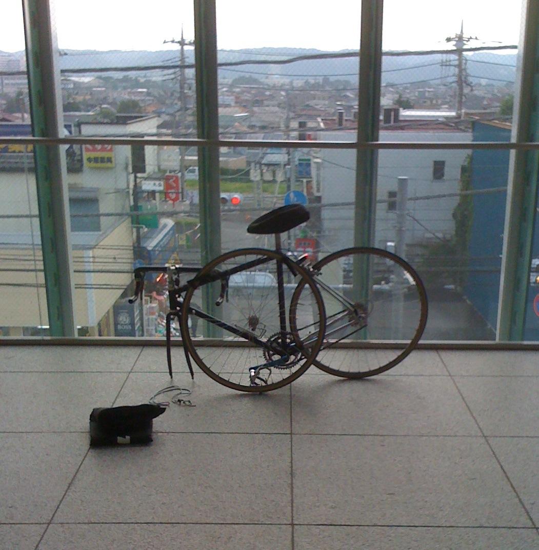 輪行袋。ロードバイクと電車 ...