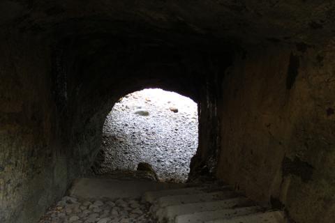 龍宮窟の階段