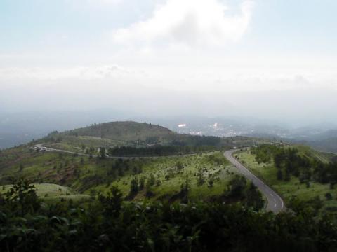 草津への眺め