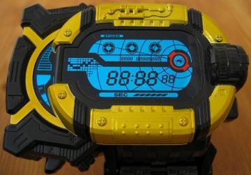 液晶部:腕時計時