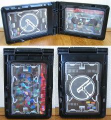 DX電王ベルト付属パス:カード挿入後